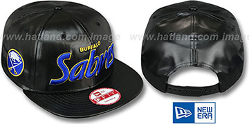 Sabres REDUX SNAPBACK Black Hat by New Era