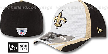 Saints 2014 NFL TRAINING FLEX White Hat by New Era