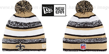 Saints 2014 STADIUM Knit Beanie Hat by New Era