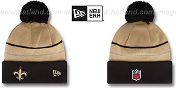 Saints THANKSGIVING DAY Knit Beanie Hat by New Era