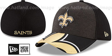 Saints 2017 NFL ONSTAGE FLEX Hat by New Era