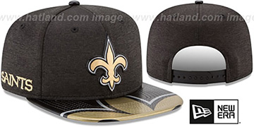 Saints 2017 NFL ONSTAGE SNAPBACK Hat by New Era