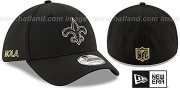 Saints 2020 NFL VIRTUAL DRAFT FLEX  Hat by New Era