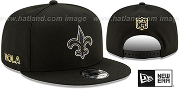 Saints 2020 NFL VIRTUAL DRAFT SNAPBACK Black Hat by New Era