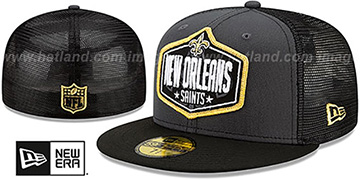 Saints '2021 NFL TRUCKER DRAFT' Fitted Hat by New Era