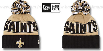 Saints REP-UR-TEAM Knit Beanie Hat by New Era
