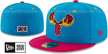 Sea Dogs COPA Blue-Pink Fitted Hat by New Era