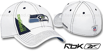 Seahawks 2010 DRAFT-DAY FLEX White Hat by Reebok