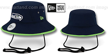 Seahawks '2014 NFL TRAINING BUCKET' Navy Hat by New Era