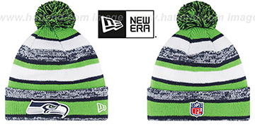 Seahawks '2014 STADIUM' Knit Beanie Hat by New Era