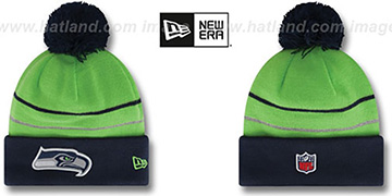 Seahawks THANKSGIVING DAY Knit Beanie Hat by New Era