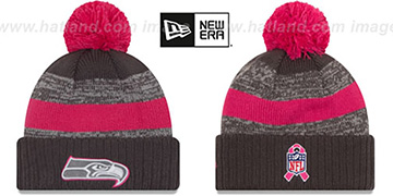 Seahawks 2016 BCA STADIUM Knit Beanie Hat by New Era