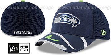 Seahawks 2017 NFL ONSTAGE FLEX Hat by New Era