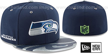 Seahawks '2017 SPOTLIGHT' Fitted Hat by New Era