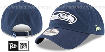 Seahawks CORE-CLASSIC STRAPBACK Navy Hat by New Era