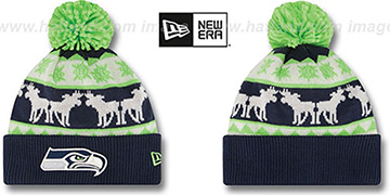 Seahawks 'THE-MOOSER' Knit Beanie Hat by New Era