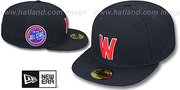 Senators 1937 'SIDE ALL-STAR-PATCH' Fitted Hat by New Era