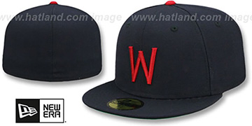 Senators 1956-60 COOPERSTOWN Fitted Hat by New Era