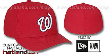 Senators 1968-71 'GAME' Hat by New Era - red