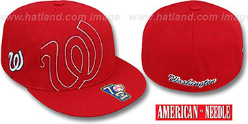 Senators HEADSTRONG Red Fitted Hat by American Needle