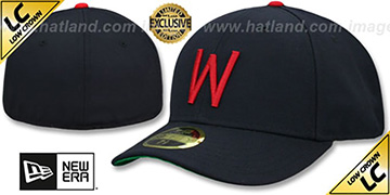 Senators LOW-CROWN 1956-60 COOPERSTOWN Fitted Hat by New Era