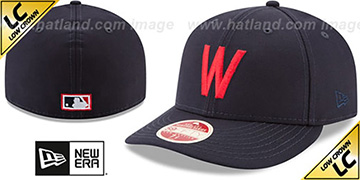 Senators 'LOW-CROWN VINTAGE' Fitted Hat by New Era