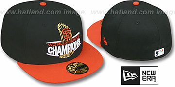 SF Giants 2010 TROPHY CHAMPIONS Hat by New Era