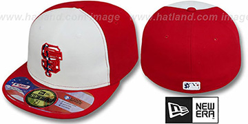SF Giants '2011 STARS N STRIPES' White-Red Hat by New Era