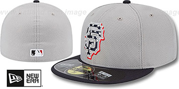 SF Giants 2013 'JULY 4TH STARS N STRIPES' Hat by New Era