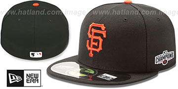 SF Giants 2014 'WORLD SERIES CHAMPIONS' GAME Hat by New Era