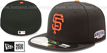 SF Giants 2014 'WORLD SERIES' GAME Hat by New Era