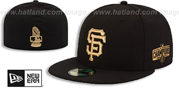 SF Giants 2015 'COMMEMORATIVE CHAMPS' GAME Hat by New Era