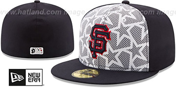 SF Giants 2016 JULY 4TH STARS N STRIPES Fitted Hat by New Era
