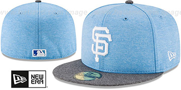 SF Giants '2017 FATHERS DAY' Fitted Hat by New Era