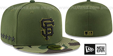 SF Giants 2017 MEMORIAL DAY 'STARS N STRIPES' Hat by New Era