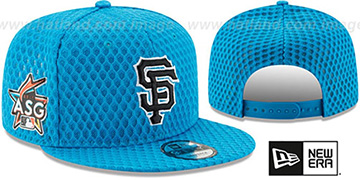 SF Giants '2017 MLB HOME RUN DERBY SNAPBACK' Blue Hat by New Era
