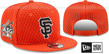 SF Giants '2017 MLB HOME RUN DERBY SNAPBACK' Orange Hat by New Era