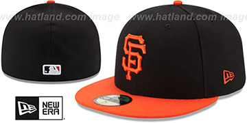 SF Giants '2017 ONFIELD ALTERNATE' Hat by New Era