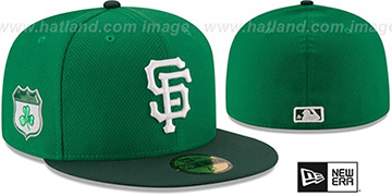 SF Giants '2017 ST PATRICKS DAY' Hat by New Era