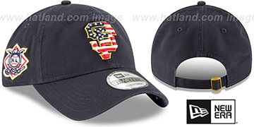 SF Giants '2018 JULY 4TH STARS N STRIPES STRAPBACK' Navy Hat by New Era