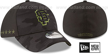 SF Giants 2018 MEMORIAL DAY 'STARS N STRIPES FLEX' Hat by New Era