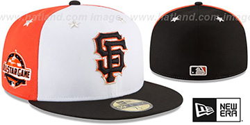 SF Giants '2018 MLB ALL-STAR GAME' Fitted Hat by New Era
