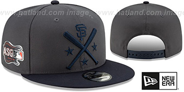 SF Giants 2019 MLB ALL-STAR WORKOUT SNAPBACK Hat by New Era