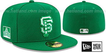 SF Giants 2020 ST PATRICKS DAY Fitted Hat by New Era