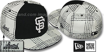 SF Giants ARMANI GOLD STAR Fitted Hat by New Era