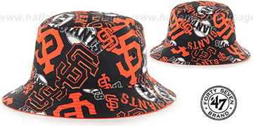 SF Giants BRAVADO BUCKET Hat by Twins 47 Brand