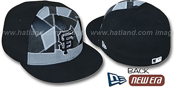 SF Giants CUT N PASTE Fitted Hat by New Era