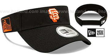 SF Giants DASHMARK BP VISOR Black by New Era