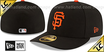 SF Giants '2017 LOW-CROWN ONFIELD GAME' Fitted Hat by New Era