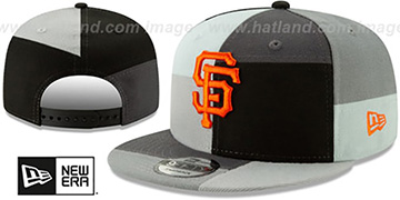SF Giants MONOCHROME PATCHWORK SNAPBACK Hat by New Era